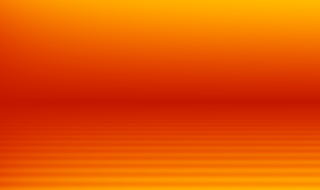 Orange radial gradient background
